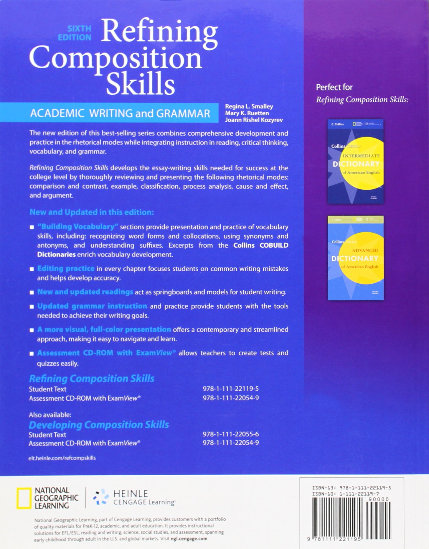 Refining Composition Skills: Academic Writing and Grammar (Developing & Refining Composition Skil) by imusti