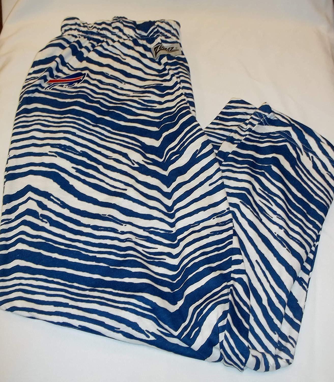 sale retailer 44748 0df1a Amazon.com : Zubaz Buffalo Bills NFL Mens Pants Blue White ...