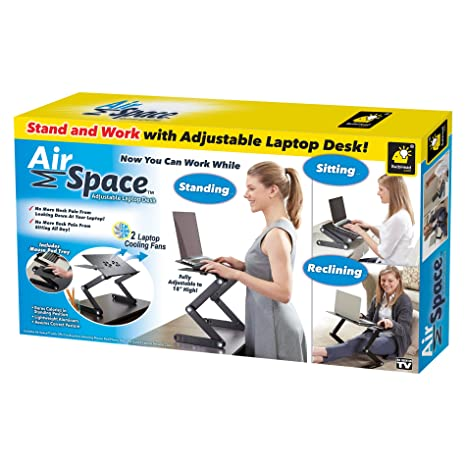 Amazon Com Official As Seen On Tv Air Space Laptop Desk By Bulbhead
