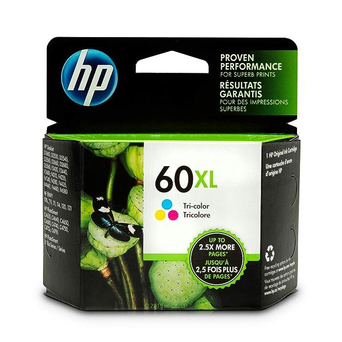HP 60XL | Ink Cartridge | Tri-color | CC644WN
