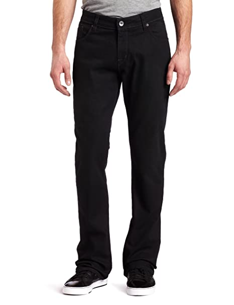 Amazon.com: Volcom de los hombres Roadhouse Slim Fit Jean ...