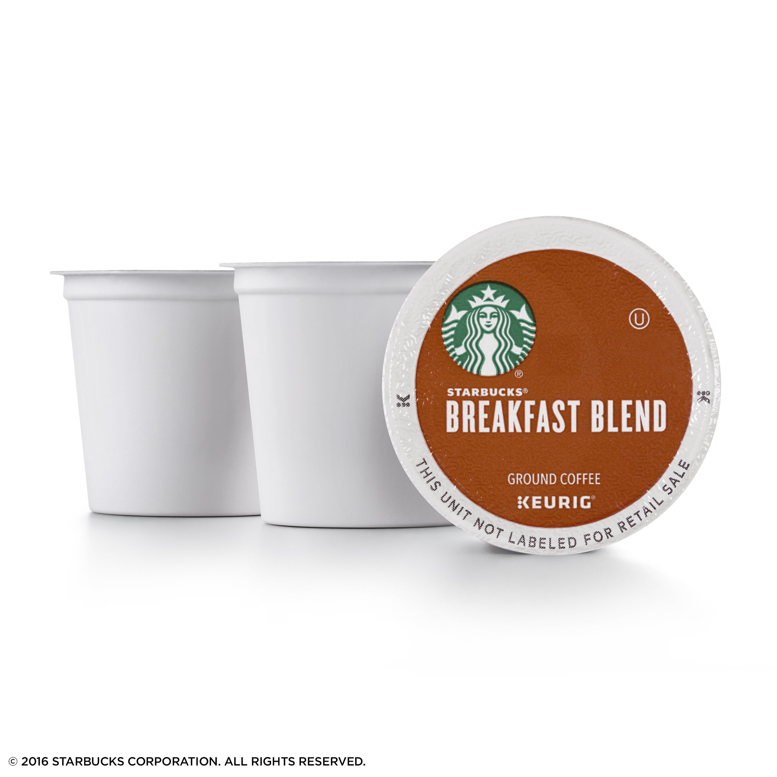 Starbucks Breakfast Blend Medium Roast Single Cup Coffee for Keurig Brewers, 6 Boxes of 10 (60 Total K-Cup pods) by Starbucks (Image #2)