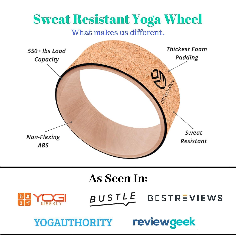 UpCircleSeven Yoga Rueda - [Pro Series] más Fuerte y más ...
