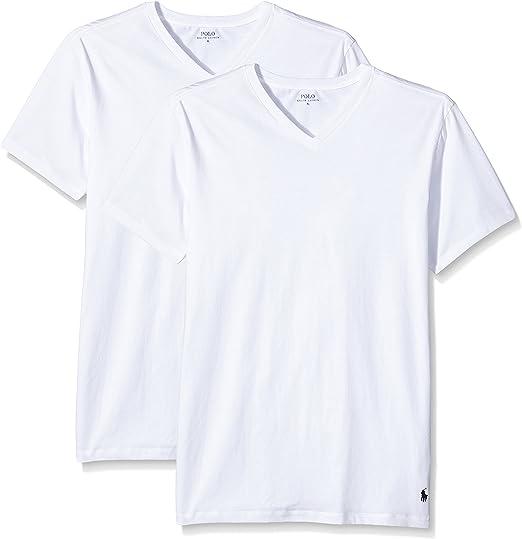 Ralph Lauren - Camiseta para hombre v neck: Amazon.es: Ropa y ...