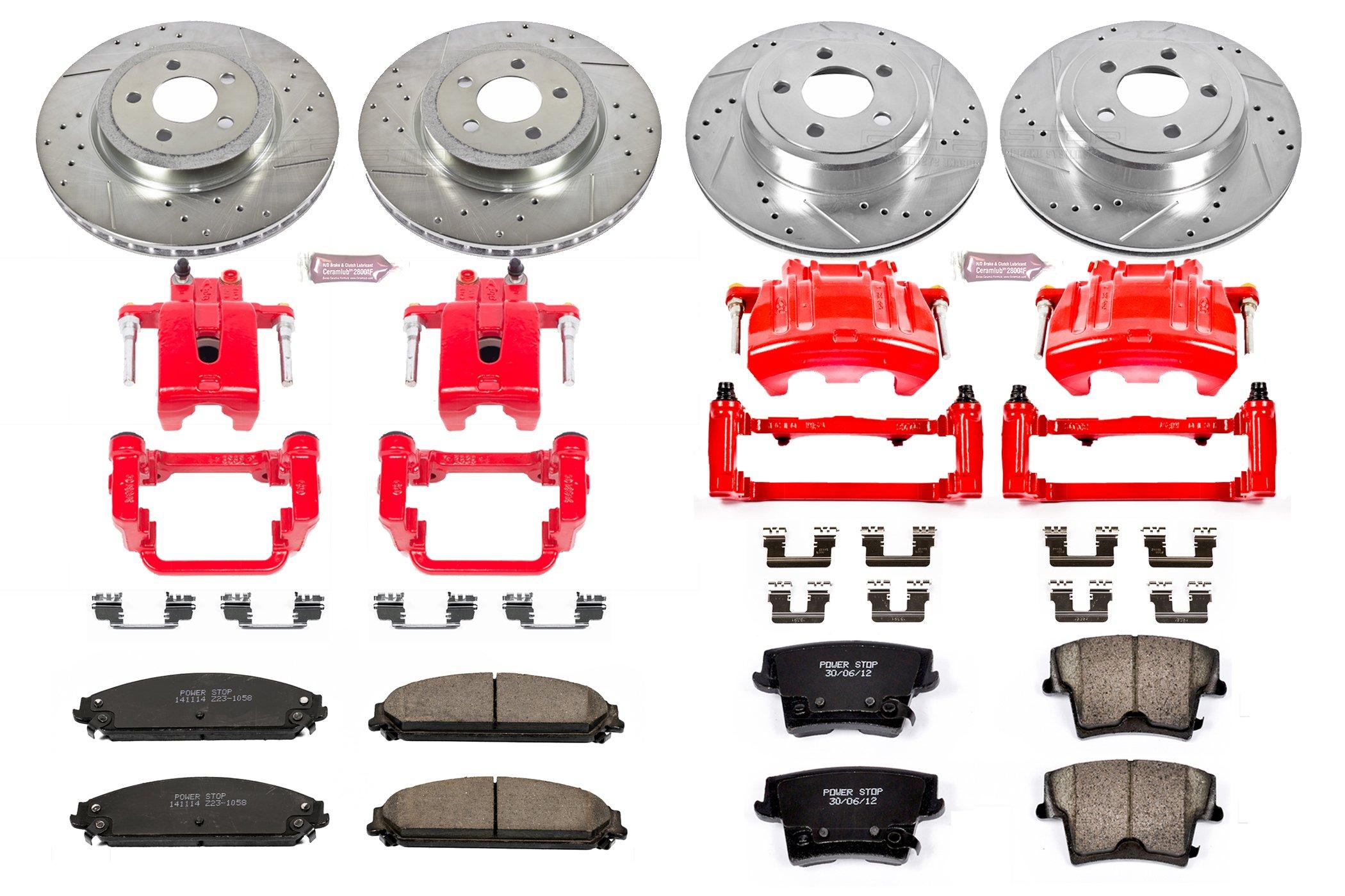 Power Stop Front Z23 Evolution Sport Brake Pads Z23-1058