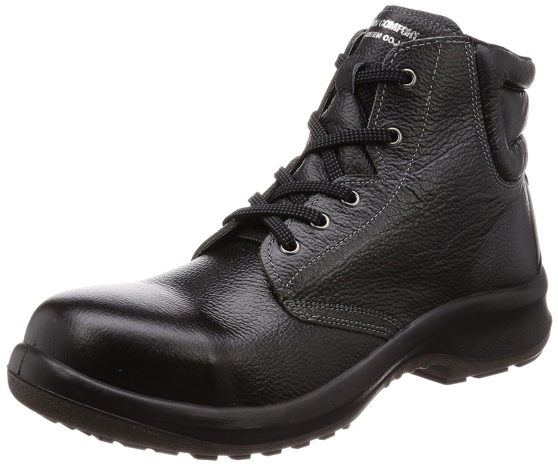 [ミドリ安全] 安全靴 JIS規格 中編上靴 プレミアムコンフォート B0761J6FJR 27.5 cm 3E ブラック