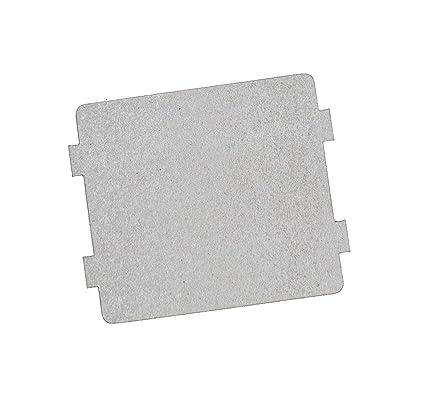 2 pcs microondas horno partes Slice de mica Super de grosor aislamiento de calor accesorios