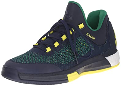 adidas basketball shoes 2015. adidas performance men\u0027s 2015 crazylight boost primeknit basketball shoe, collegiate navy/collegiate navy/ shoes s