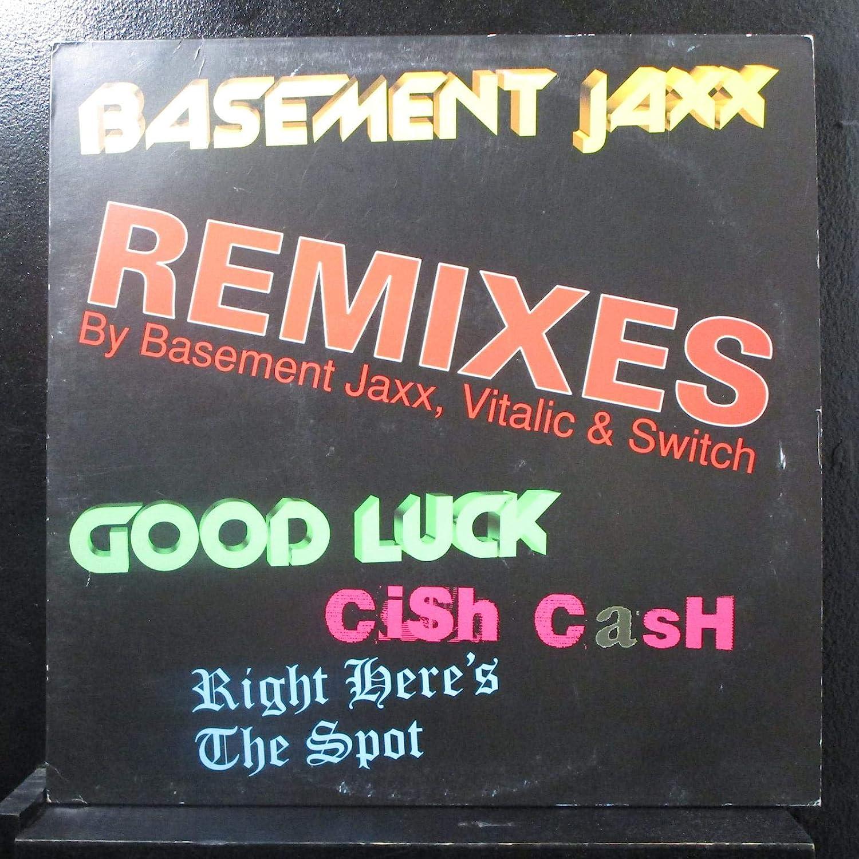Basement Jaxx Basement Jaxx Good Luck Cish Cash Right Here S The Spot Remixes By Basement Jaxx Vitalic Switch Lp Vinyl Record Amazon Com Music
