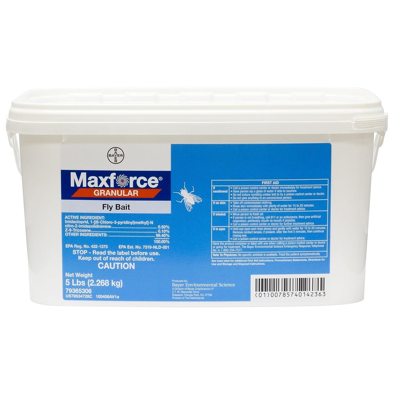 Amazon.com: Maxforce cebo granulado para moscas, matamoscas ...