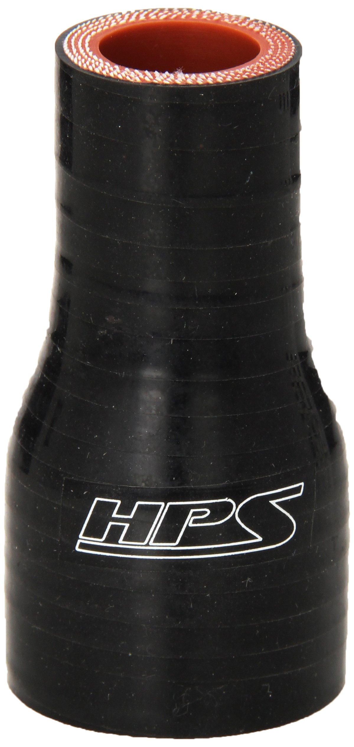 3 Length 1-1//4  1-3//4 ID 100 PSI Maximum Pressure Black 3 Length 1-1//4  1-3//4 ID HPS Silicone Hoses HPS HTSR-125-175-BLK Silicone High Temperature 4-ply Reinforced Reducer Coupler Hose