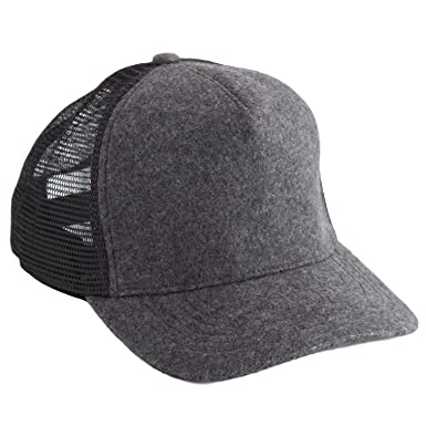 aa5bea5d382  ジェームスパース  JAMES PERSE DOUBLE FACE KNIT TRUCKER HAT Charcoal Grey キャップ  チャコールグレー