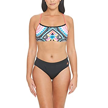 43e6479a928 Zoggs Women's's Baker 2 Piece Bikini: Amazon.co.uk: Sports & Outdoors
