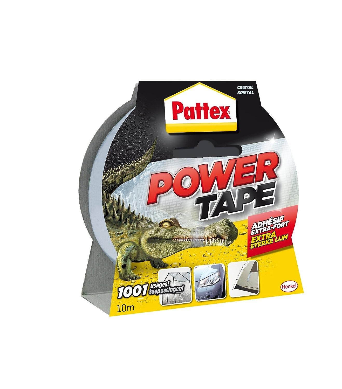 Pattex Power Tape - Cinta adhesiva invisible (10 m) 1669218