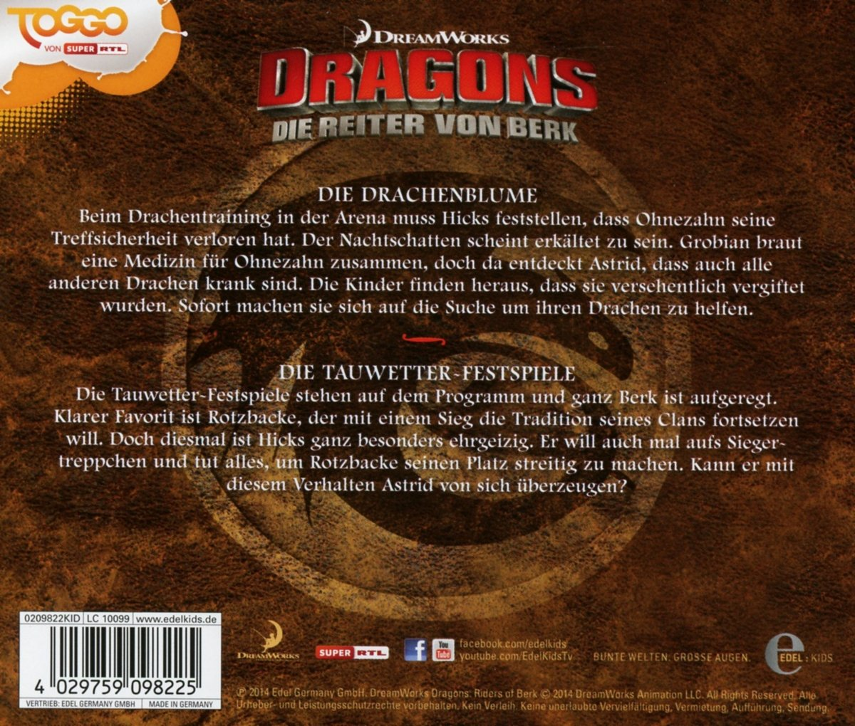 DRAGONS - Die Reiter Von Berk 6 - Amazon.com Music