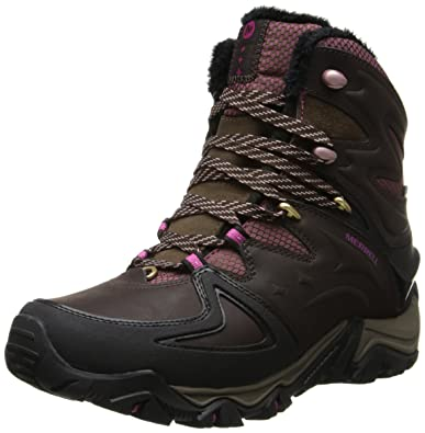 54962f8f21b Amazon.com | Merrell Women's Polarand 8 Waterproof Winter Boot ...
