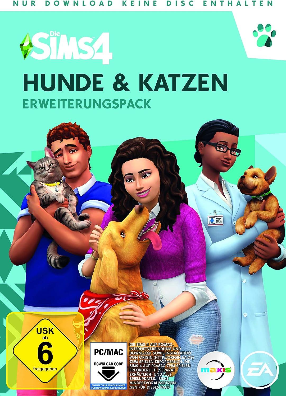 Die Sims 4 Hunde&Katzen (EP4) [Importación alemana]: Amazon.es ...