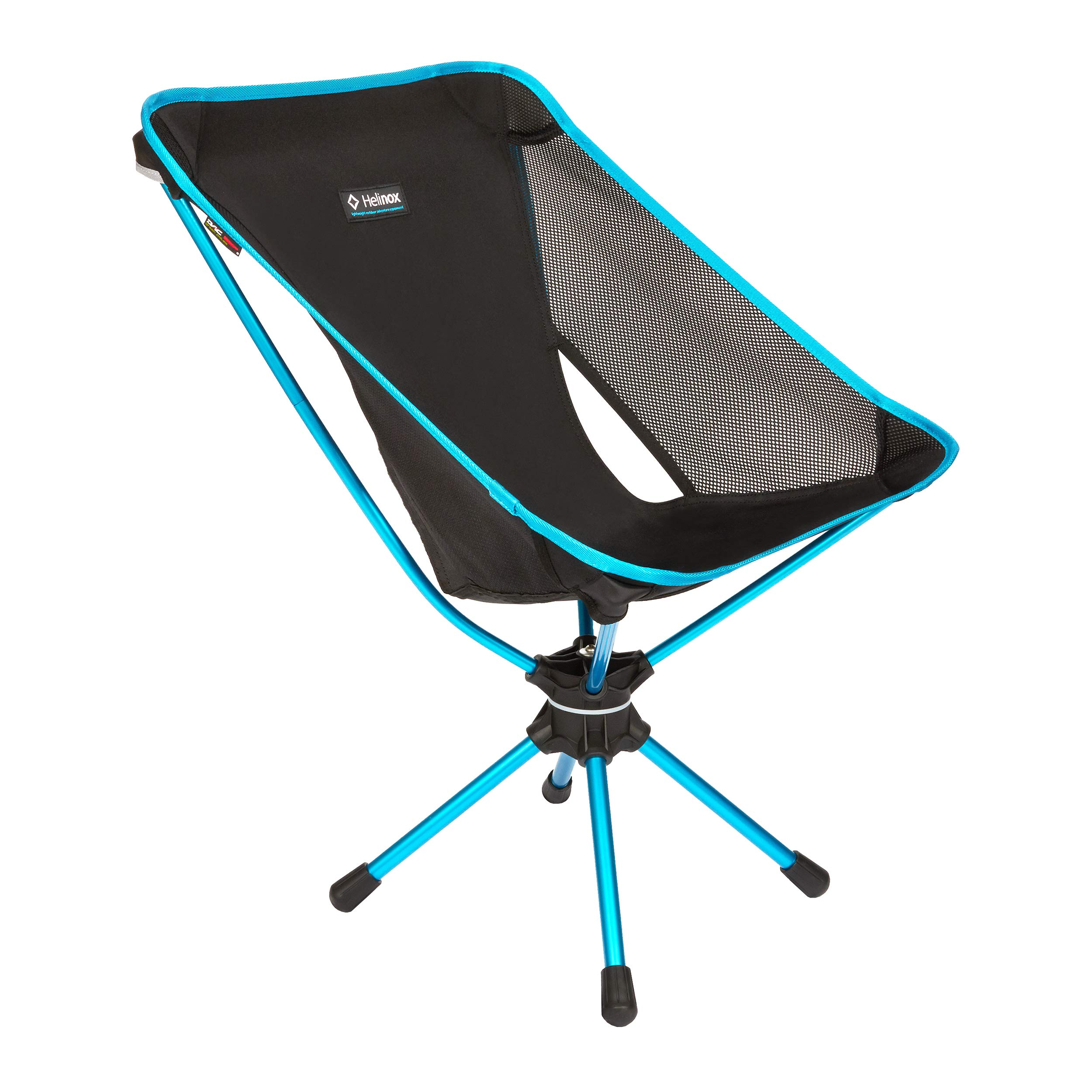 Helinox Swivel Chair Lightweight, Versatile, Compact, Collapsible Camping Chair, Black by Helinox