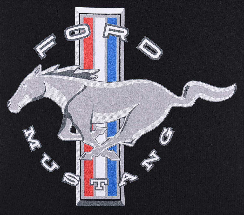 JH DESIGN GROUP Mens Ford Mustang Short Sleeve Crew Neck T-Shirt