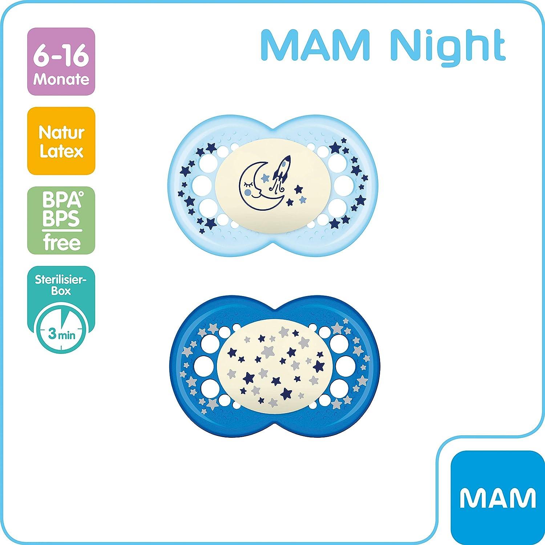 Mam Babyartikel 66110511 - Chupete para 6-16 meses, paquete de 2 undidades [modelos surtidos]: Amazon.es: Bebé