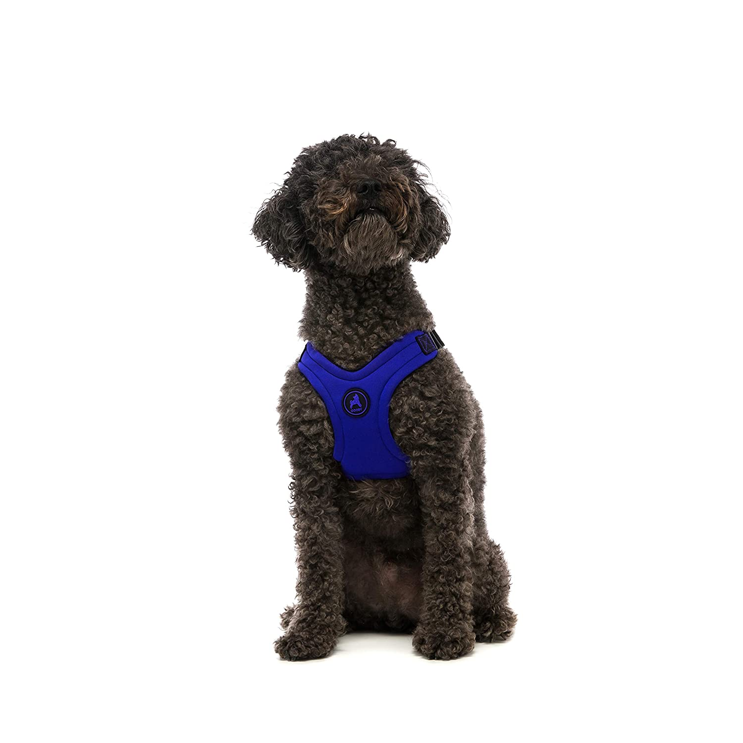 Gooby Escape Free Sport Dog Harness for Dogs That Pulls and Escapes, bluee, Medium