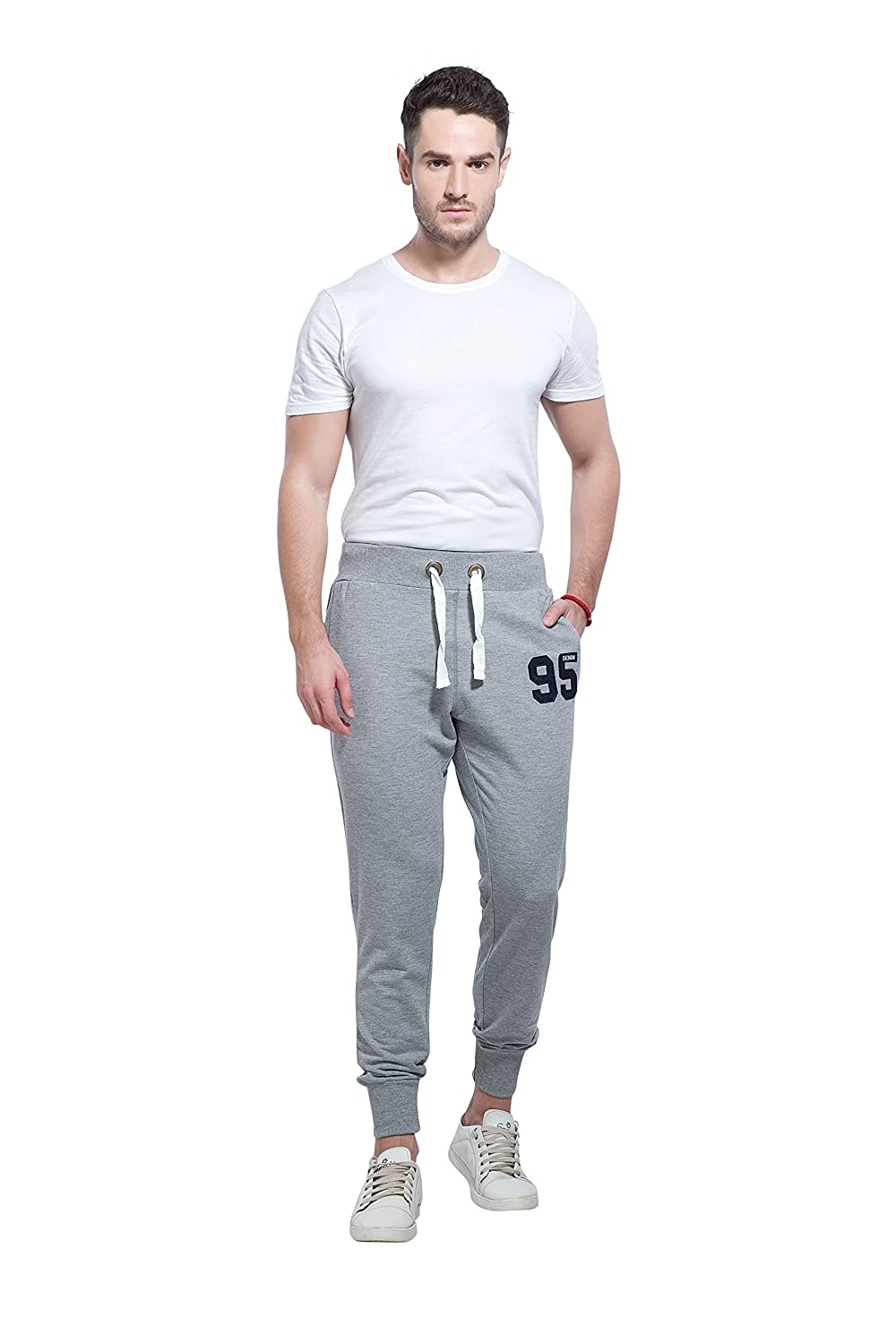 b784d6961c11e Alan Jones Clothing Men's Cotton Slim Fit Joggers: Amazon.in: Clothing &  Accessories