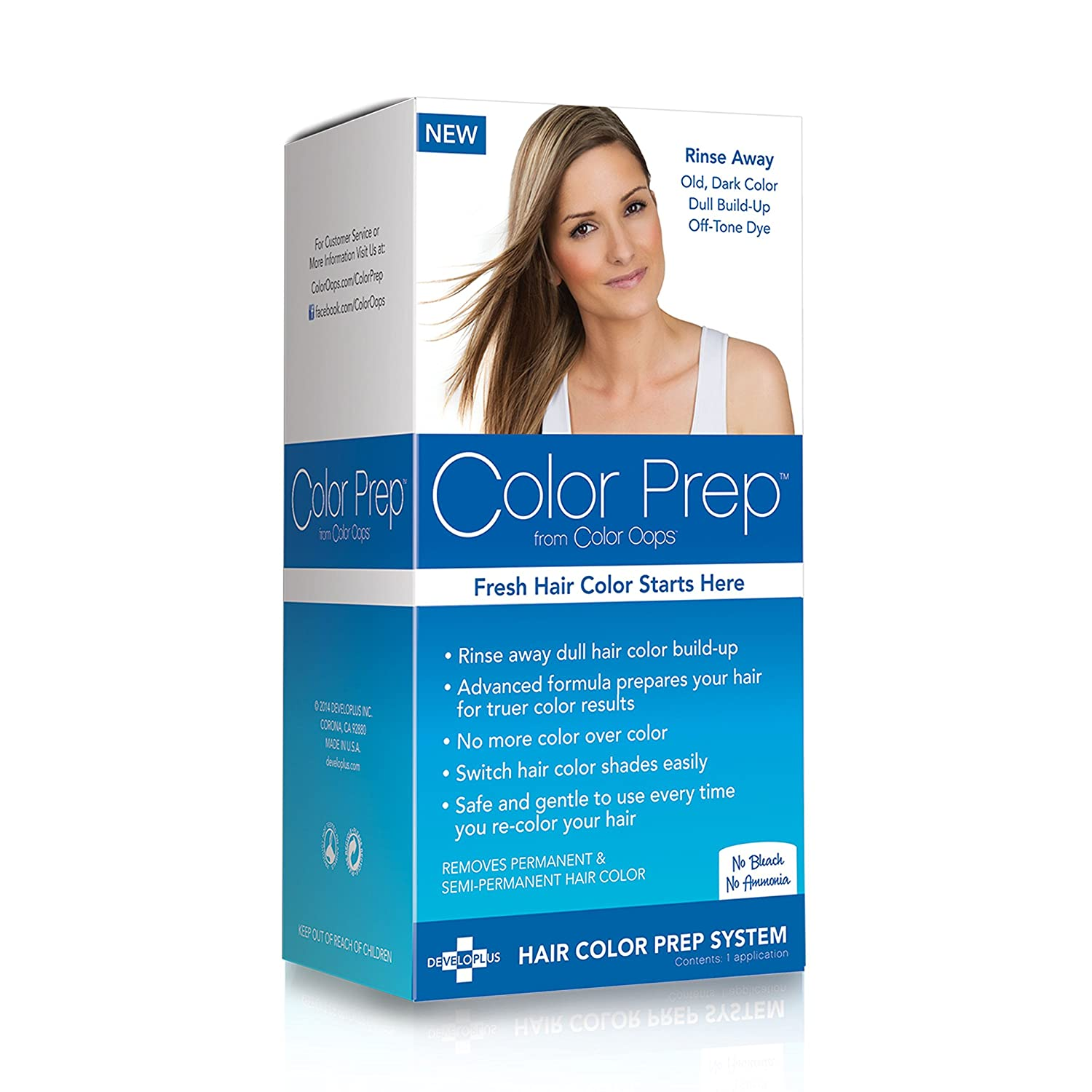 Amazon Color Prep From Color Oops Hair Color Prep System Beauty