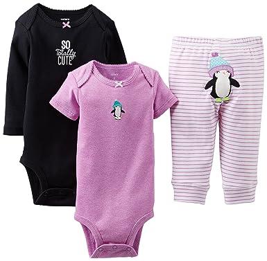 fb451b8a4 Amazon.com: Carter's Baby Girls' 3 Piece