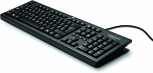 HP Classic Wired Keyboard, Black
