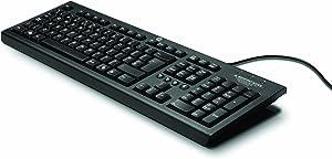 HP Classic Wired Keyboard, Black