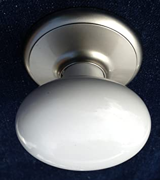 Gainsborough DUMMY Wardrobe Closet Door Knob (WHITE Porcelain ...
