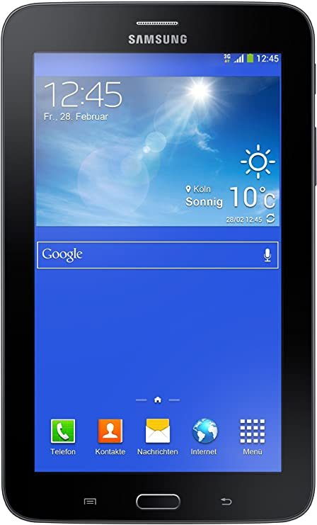 Samsung Galaxy Tab 3 7.0 Lite 17,8 cm (7 Zoll) Tablet-PC (Dual Core Prozessor, 1,2GHz, 1GB RAM, 8GB HDD, Android 4.2, Wi-Fi +