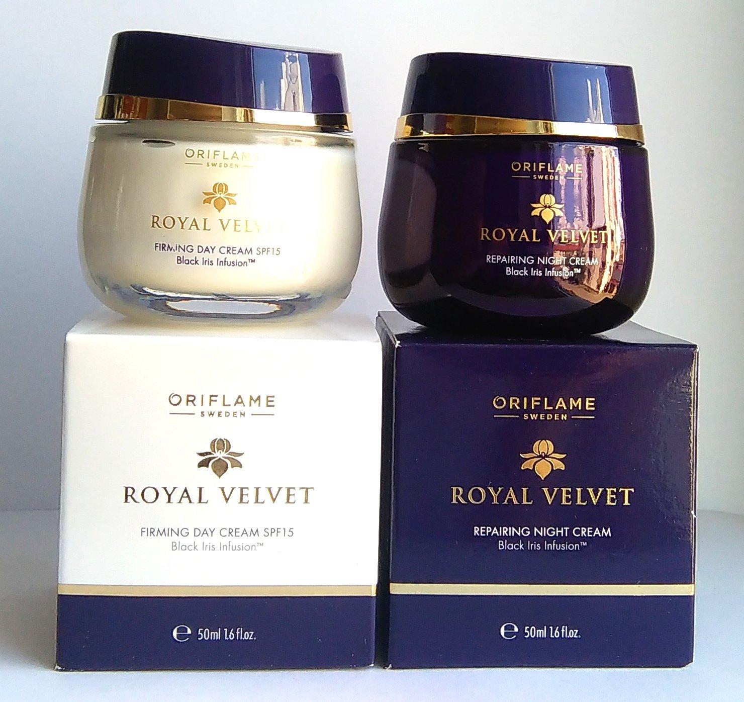 Oriflame Royal Velvet 40+ SET : Firming Day Cream SPF 15 + Repairing Night Cream by Oriflame