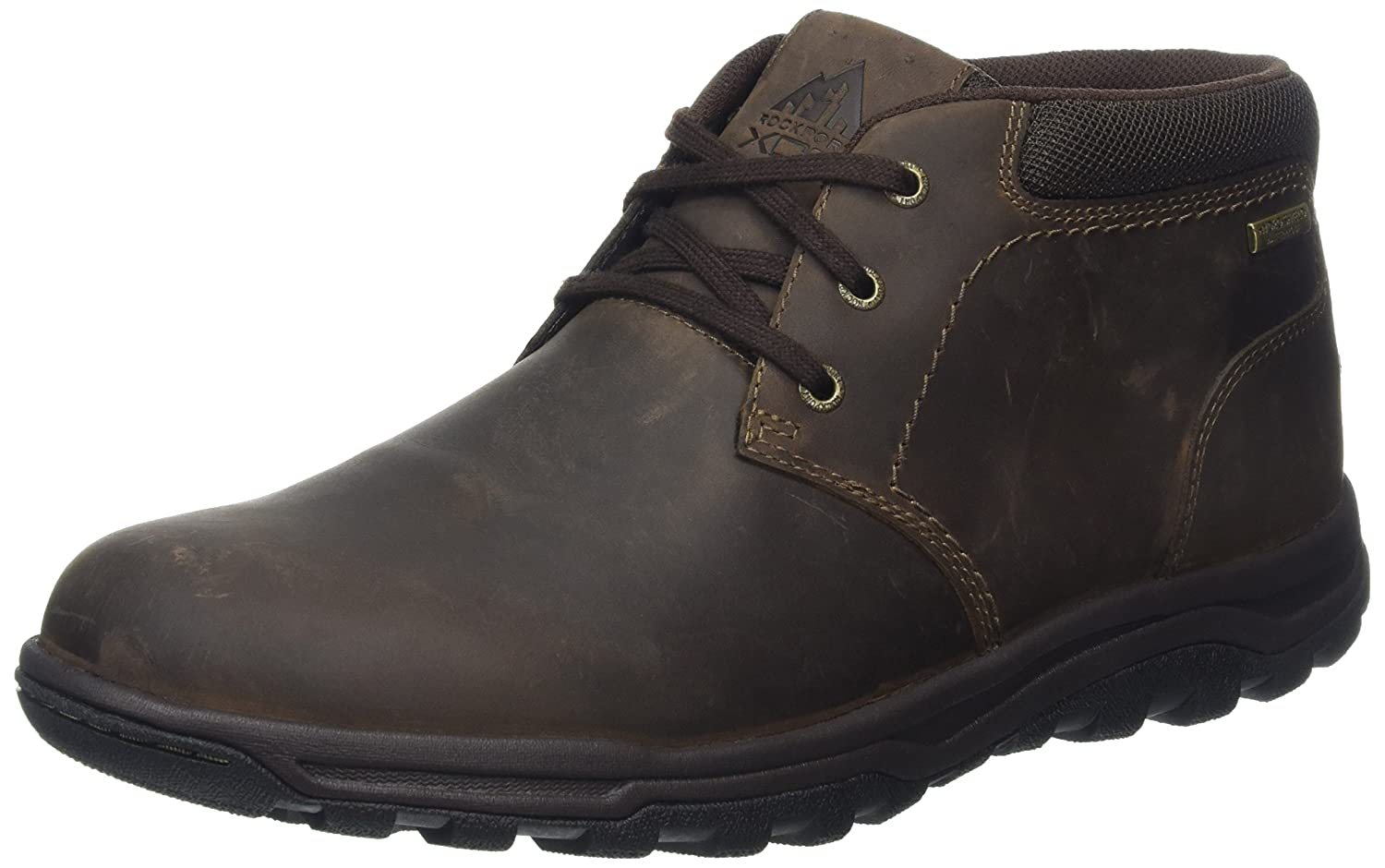 TALLA 44 EU. Rockport Trail Technique Waterproof Mid, Botas Desert para Hombre