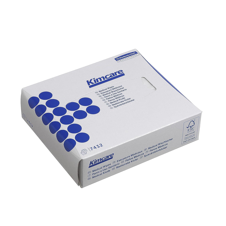 80 wei/ße Interfold-T/ücher pro Karton KIMCARE* Pfleget/ücher VE mit 66 Kartons 7432