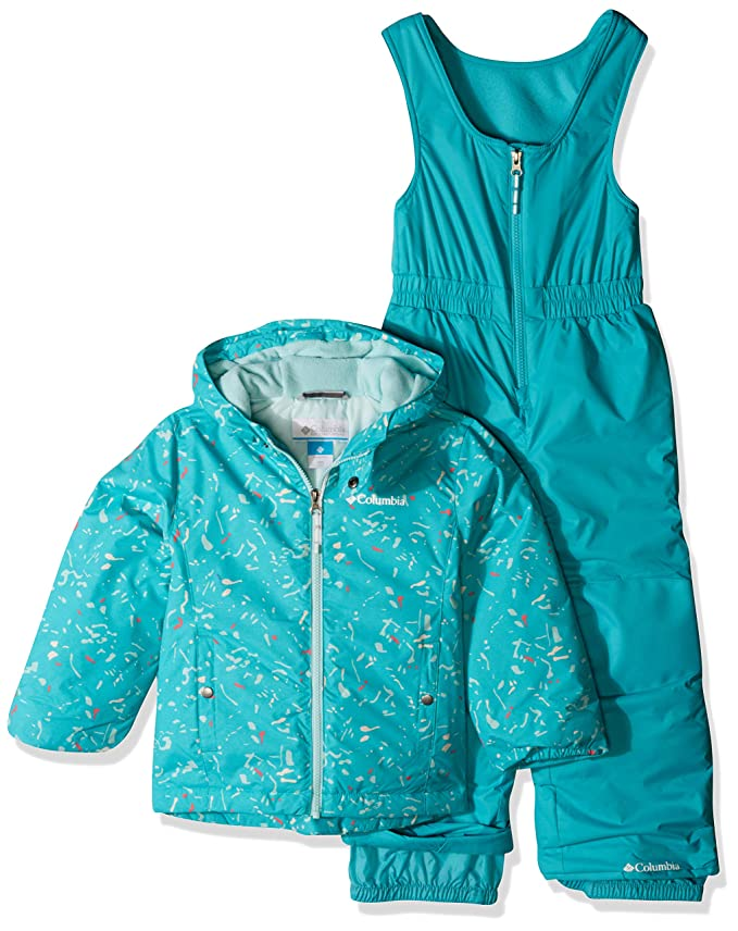 Columbia Kids' Toddler Frosty Slope Set, Geyser Splatter, 3T