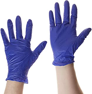 Large Nytraguard Tough Nitrile Gloves Pack of 100