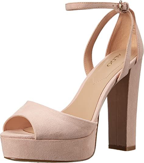 exquisite design crazy price reasonably priced Amazon.com | ALDO Women's Olivarra Platform Sandal, Light Pink, 9 ...