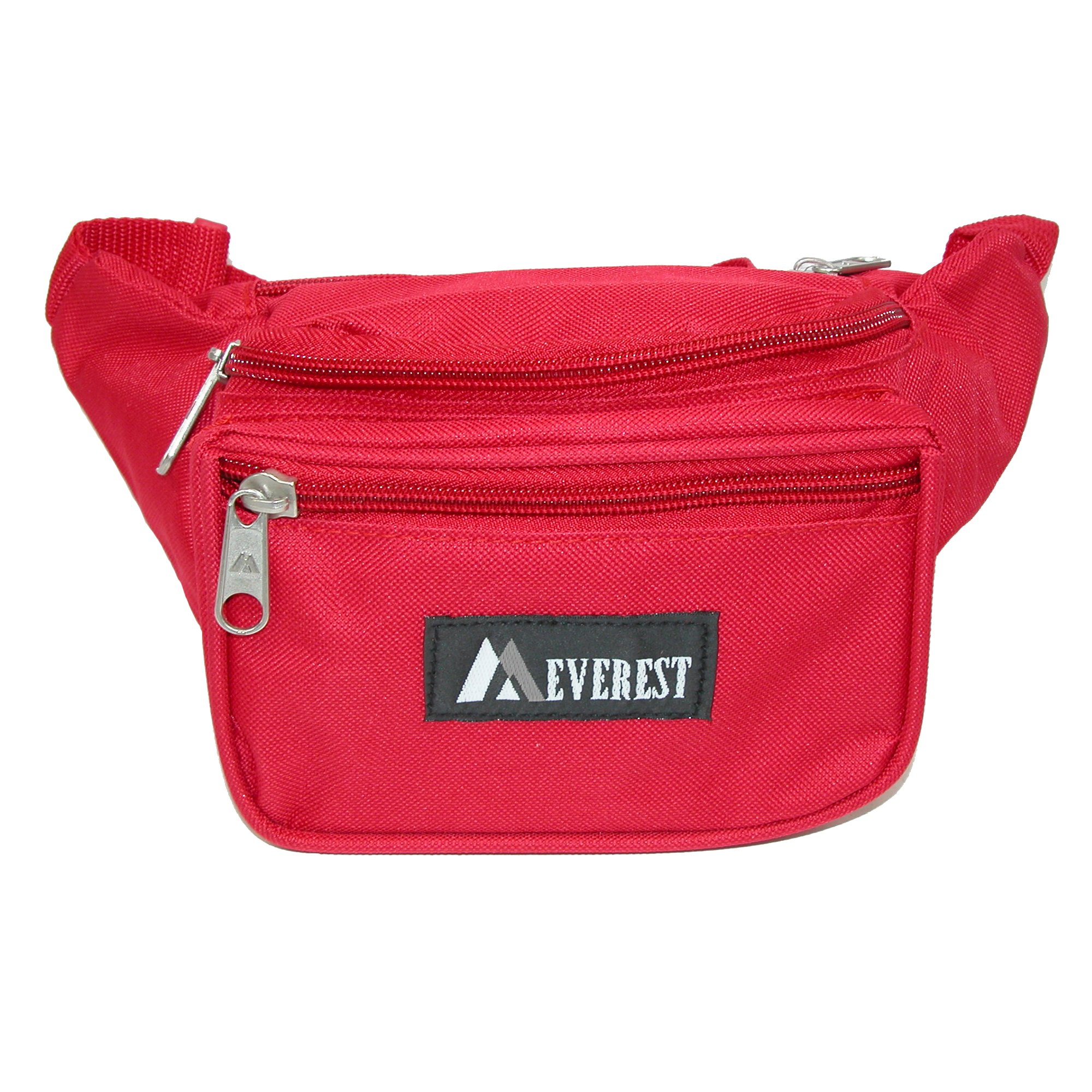 Everest Durable Fabric Waist Packs (Case of 50), Red by everest