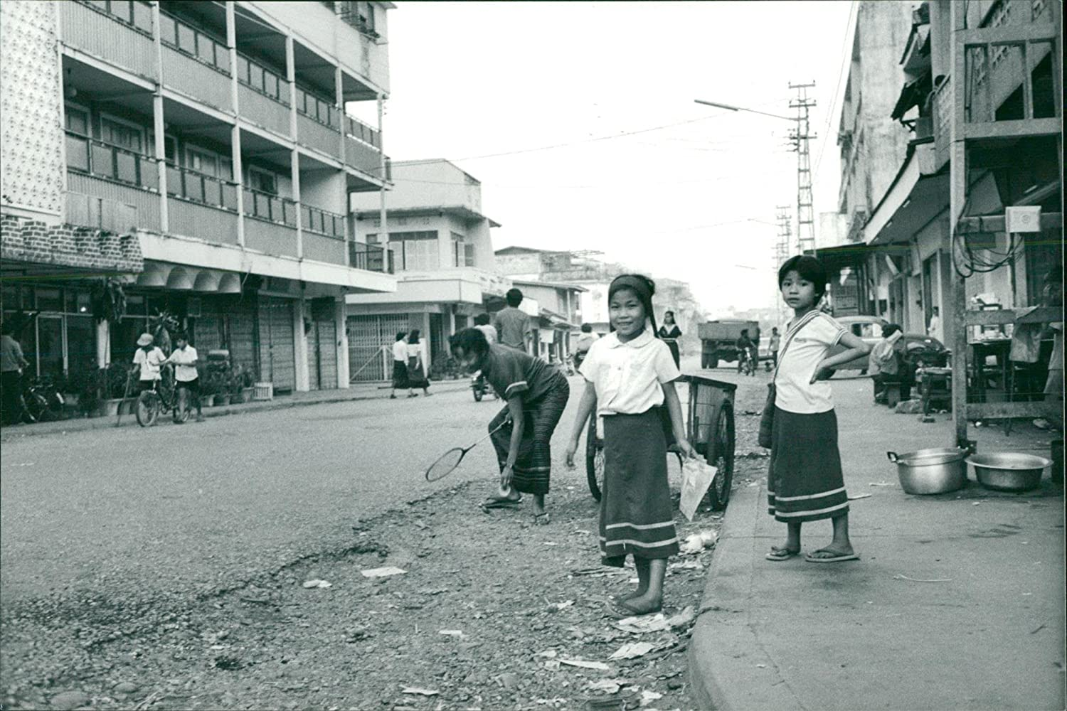 Vintage photo of Laos, folklore and popular types: Amazon ca: Home