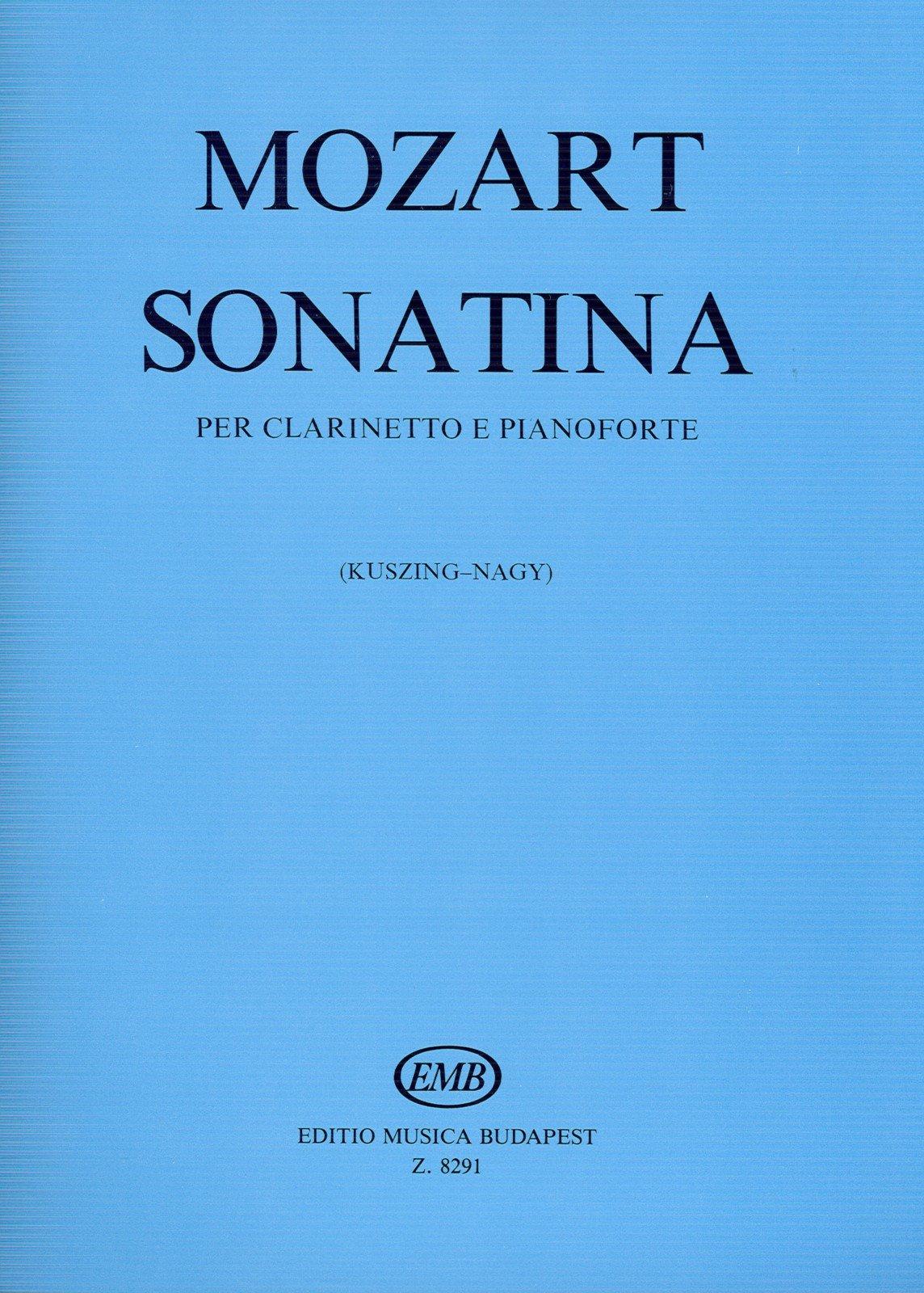 MOZART - Sonatina para Clarinete y Piano (Kuszing/Nagy)