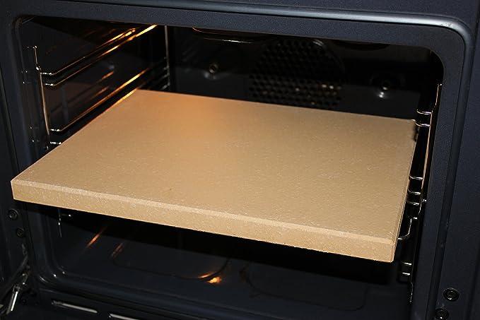 Placa de piedra Premium para Pizza, Pan, Flammkuchen, de chamota ...