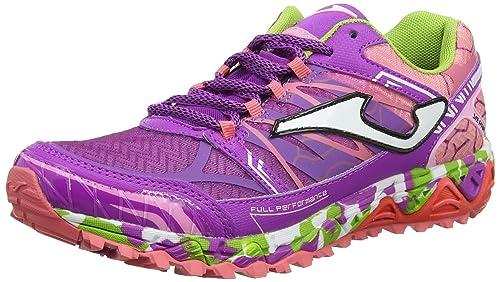 JOMA Sierra Lady, Zapatillas de Running para Asfalto para Mujer, Morado (Purple), 39 EU: Amazon.es: Zapatos y complementos