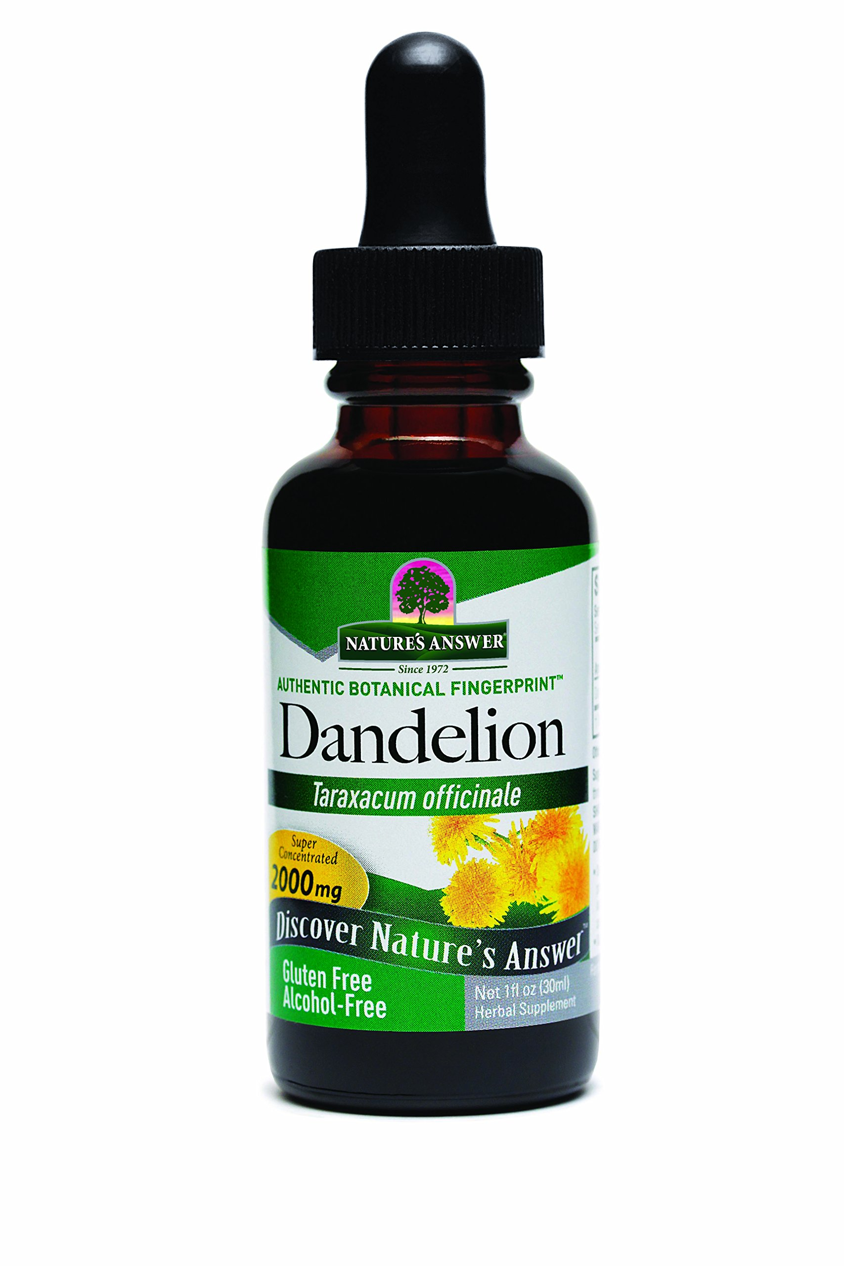 Nature's Answer Alcohol-Free Dandelion Root, 1-Fluid Ounce