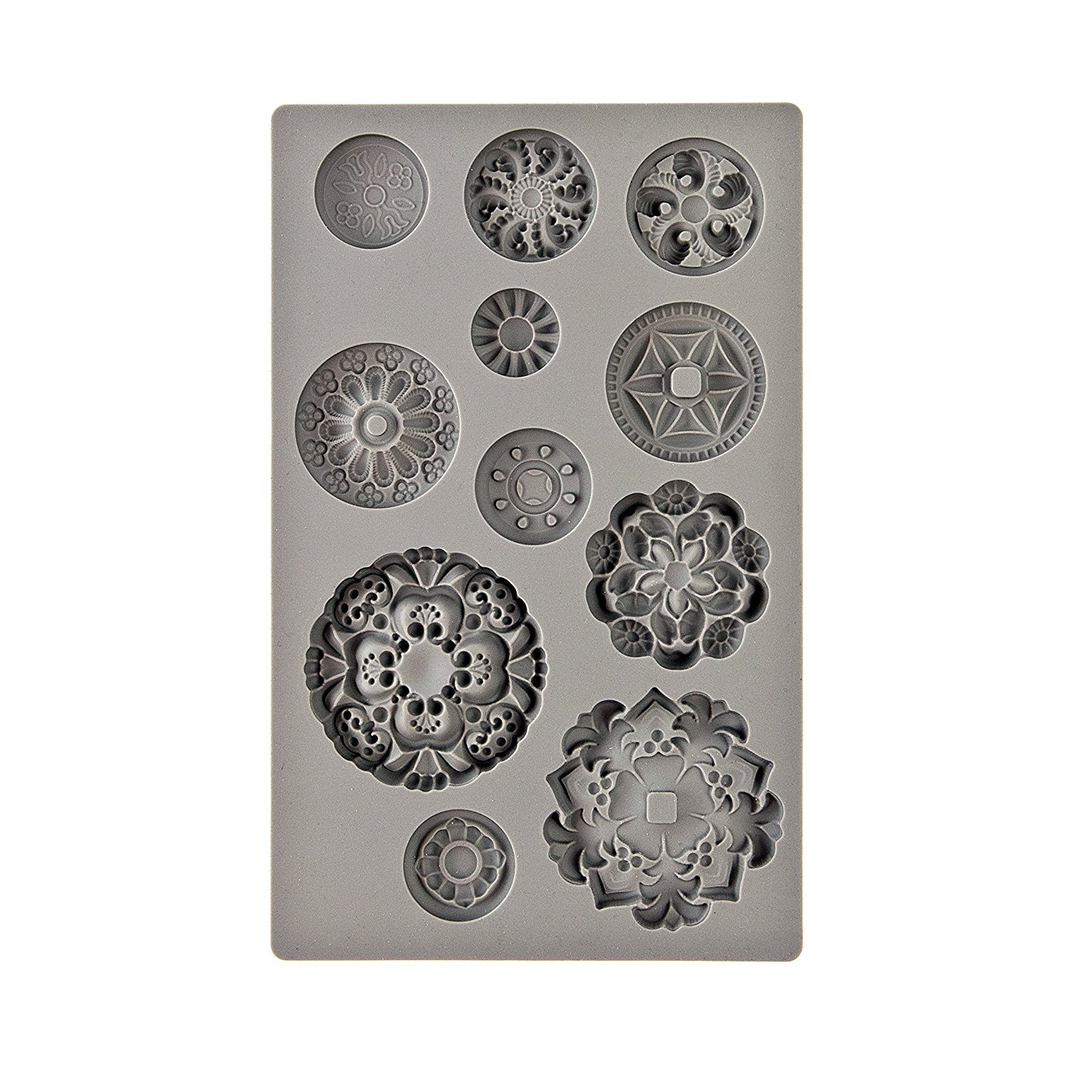 Prima Marketing Iod Decor Mold-Medallions Prima Marketing Inc 655350815790