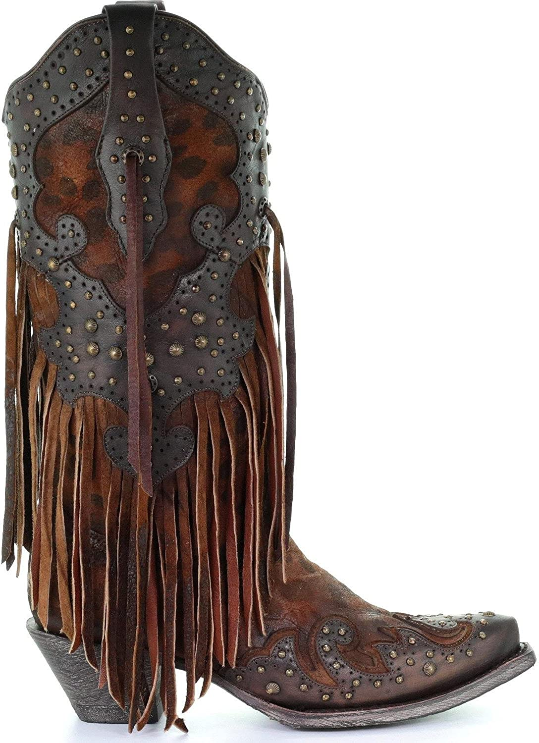 Fringe Cowgirl Boot Snip Toe | Boots