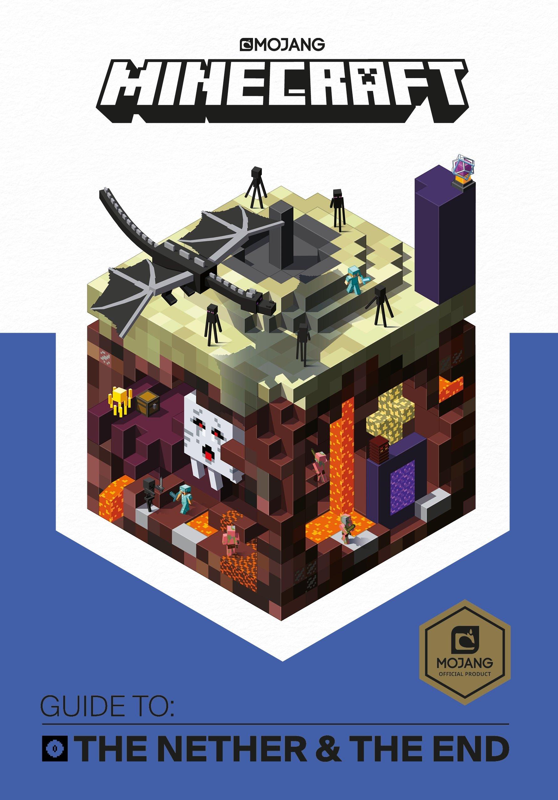 Minecraft The Nether End Guide Amazonde Mojang Fremdsprachige - Minecraft namen andern ohne mojang