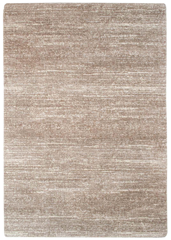 Capetcity Teppich Hochflor Shaggy Abart Meliert Soft Micro-Polyester Wohnzimmer Beige Größe 240 340 cm