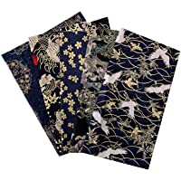 20 x 25cm 5pcs Printed Floral Cotton Fabric Handmade DIY Patchwork Sewing Fabric Bundles Quilting Crafting Fabric