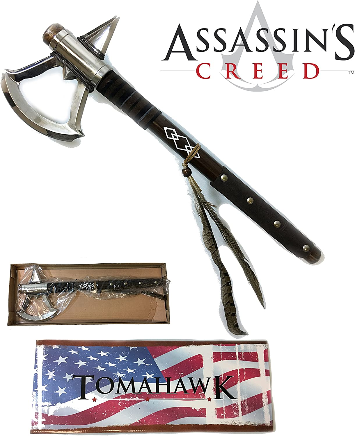 Amazon Com 17 5 Assassin S Tomahawk Axe Native American